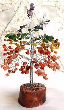 REIKI CHARGED CHAKRA CRYSTAL TYPES GEMSTONES TREE HEALING  GIFT