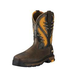 Ariat Men's Intrepid VentTEK Comp Toe Pull-On Safety Work Boots