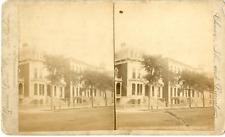 USA, Chicago Vintage stereocard print Tirage albuminé  11x18  1900  <div s