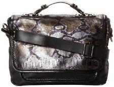 $350 Diesel Rebecca Skin Club Teal Blue Cross Body Purse Handbag T7093