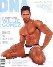 DNA Magazine #178 gay men In Bed With WILLIE GOMEZ