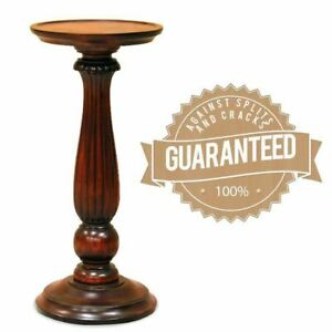 Solid Mahogany Wood Carved Plant Stand / Flower Stand Antique Reproduction Style