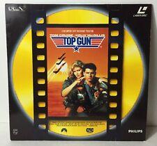 Laser Disc /Laser Disque Film Top Gun Top Cruise Mc Gillis Voir Photos