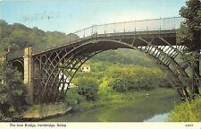 B101159 the iron bridge ironbridge salop  uk  14x9cm