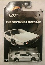 2015 HOT WHEELS 007 THE SPY WHO LOVED ME  LOTUS ESPRIT S1 white 5/5
