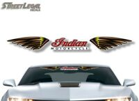 """36"""" Indian Motorcycle Tribal Windshield Graphic Trailer Decal Sticker"""