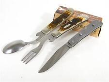 CASE XX 0052 Amber BONE HOBO Fork Spoon Knife 052 New!
