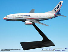 Flight Miniatures Boeing 737-500 House Colors 1981 Demo Livery 1:200 Scale New