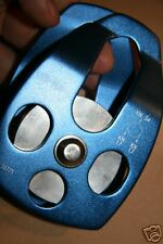 New Large Aluminum Pulley Fusion Ace Brand will take 5/8 Rope