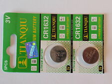 2- Cr1632 Batteries-3V-Guaranted-Fast Shipping