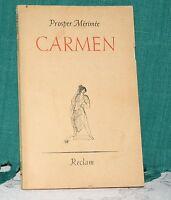 Mérimée, Carmen, reclam Nr. 1602