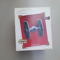 2003 Hallmark Keepsake Ornament Imperial TIE Fighter with Sound NEW