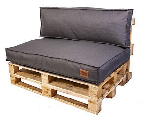 Palettenkissen,Sitzauflage, Euro Palette, Polyester ,Gartensofa,Granulat