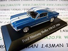 CH9 : Voitures Mythiques Atlas IXO Chapatte : FORD Mustang Shelby 350 Gt 1966