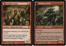 MTG X4: Instigator Gang // Wildblood Pack, Innistrad, R, MP - FREE US SHIPPING!
