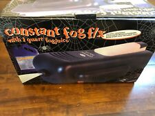 RARE 1200 watt FOG Machine Continuous Smoke Generator Halloween Haunted Constant