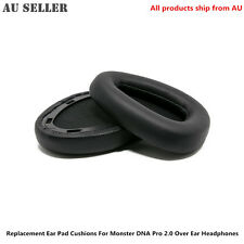 Replacement Ear Pad Cushions For Monster DNA Pro 2.0 Over Ear Headphones
