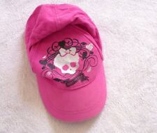 casquette MONSTER HIGH rose fille 4 à 12 ans