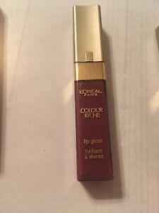 L'Oreal Colour Riche Lip Gloss .23 fl oz/6.8 ml you choose new