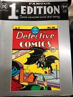 1st famous EDITION LTD Silver Mint COLLECTORS SERIES C-26 Detective COMICS #1 DC