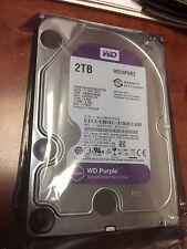 WD Purple 2TB Hard Drive Surveillance WD20PURZ SATA 6 Gbs 64MB Western Digital