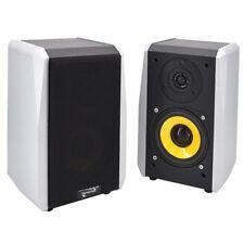 Regal-Lautsprecher Dynavox TG-1000B, Silber, Paar, Satelliten Kleine HiFi Boxen