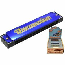 More details for harmonica musical harmonicas 16 holes mouth organ guitar sound toy new