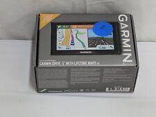 "New listing Garmin Drive 5"" Screen Usa Lm Ex Gps Navigator With Lifetime Maps, Lane Assist"