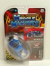 Rare The Original Muscle Machines Series 1 1964 Pontiac GTO Chase Blue