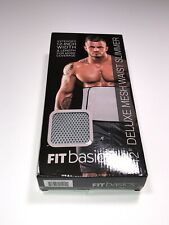 """Fit Basics 12"""" Deluxe Mesh Waist Slimmer One Size Fits Most"""