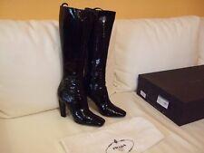 Prada Damenschuhe Stiefel schwarz Größe 39