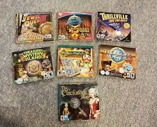 LOT OF 7 COMPUTER ADVENTURE GAMES, JEWEL QUEST 3, MAGIC MATCH AND MUCH MORE