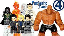 Fantastic Four x 8 pcs MARVEL Blocks THE AVENGERS  Toys Custom Bricks