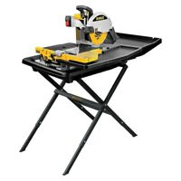 "DeWALT D24000S 10"" Wet Tile Stone Slate Saw + Portable Stand D24000"