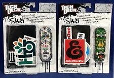 2 NEW Tech Deck - SK8 - Fingerboards MOLINAR Chany FINGER BOARDS Sticker Packs