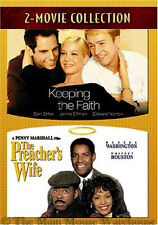 Keeping the Faith and The Preacher's Wife Dramedy Double Feature 2 Movie DVD Set