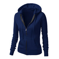 Fashion Women Long Sleeve Hoodie Jumper Sweater Sweatshirt Pullover Jacket Coat