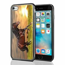Sunset Running Horse For Iphone 7 Case Cover By Atomic Market