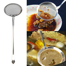 Stainless Steel Fine Chinois Mesh Skimmer Strainer Ladle New Kitchen Tools SM