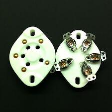 5 Pin UX5 Ceramic  Valve Tubes Socket For 807 etc.