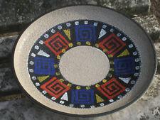 Dumler & Breiden plat en céramique années 70