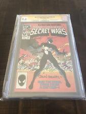 Marvel Super Heroes Secret Wars 8 CGC 9.6 SS SHOOTER/BEATTY/ZECK SYMBIOTE MCU🔥