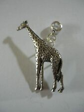 Giraffe codea10 Charm with 5mm Hole fit Pendant Charm Bracelet