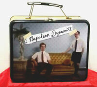 Rare 2005 Napoleon Dynamite Collectible Tin Lunchbox  Item No 1820 Preown Good