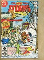 New Teen Titans #19-1982 vf 8.0 Marv Wolfman George Perez Doctor Light Hawkman