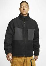 Nike ACG Microfleece Mens Jacket Black Size M Sportswear Fleece Hoodie