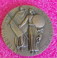 1931 Art Deco French Mermaid  Bronze Medal  Poster