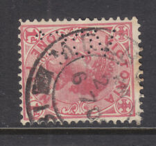 New listing Perfin: Voco Sideways From The Back On Id Vic Qeii Used