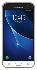 Unlocked Samsung Galaxy J3 16GB J320A 4G LTE AT&T T-Mobile White Phone
