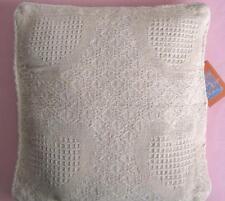 NWT Target Natural Heart Woven Throw Cushion Cover 43cm x 43cm Natural Fibre